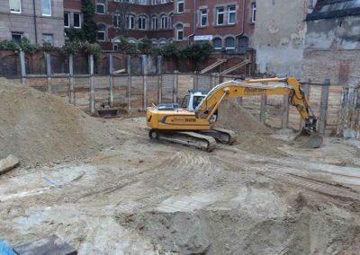 Baugrube Knauerstr