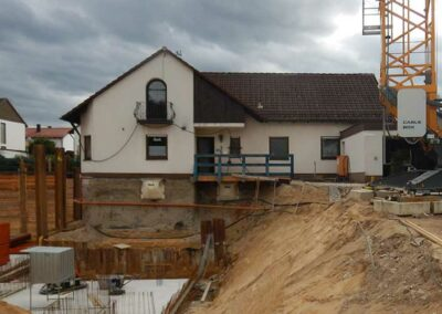 Baugrubenverbau